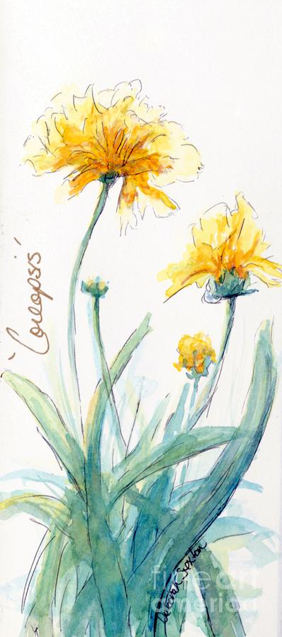 Coreopsis Painting