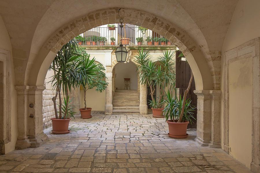 Corte Bari Photograph
