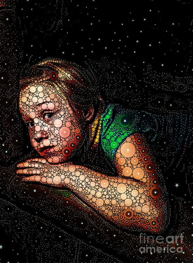 Portrait Digital Art - Cosmic Dust by Ron Bissett