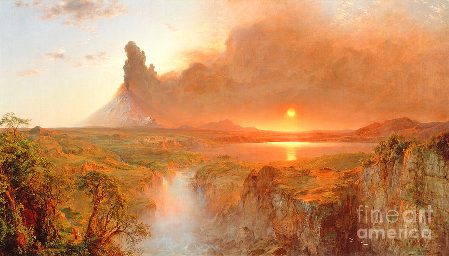 Cotopaxi Painting - Cotopaxi by Frederic Edwin Church