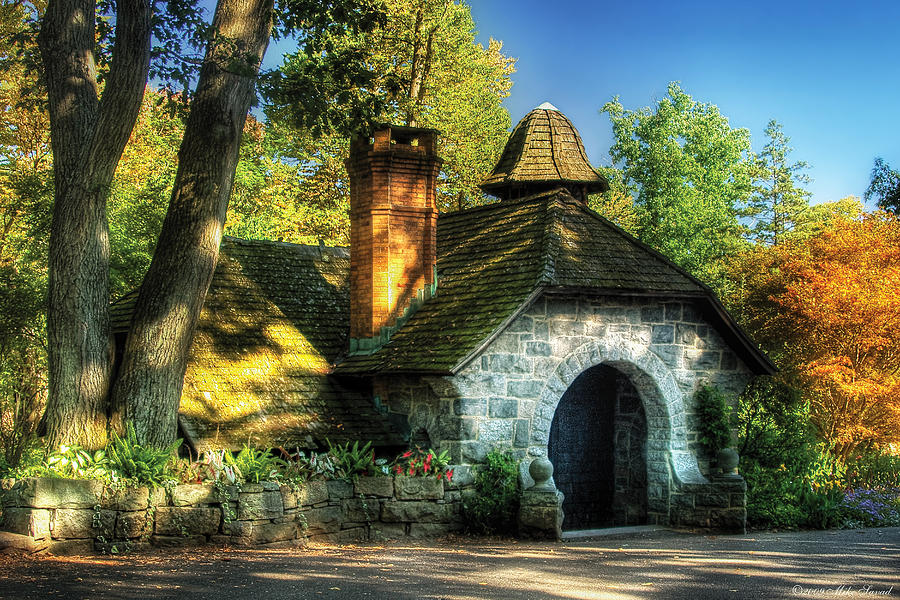 Savad Photograph - Cottage - The Little Cottage by Mike Savad
