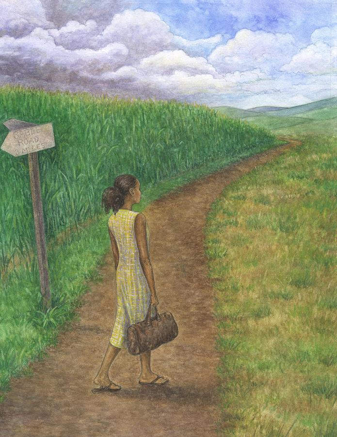 Country Road Painting - Country Road by Robert Casilla