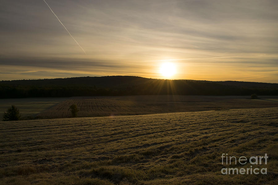 Country Sunrise Photograph by Jan Mulherin
