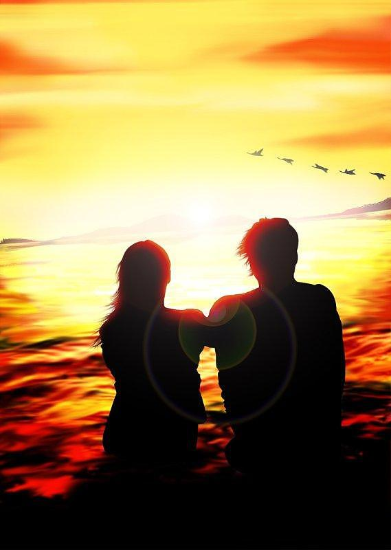 Couple Digital Art - Couple by Fabio Turini