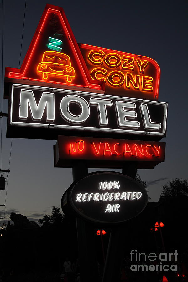 Cozy Cone Motel - Radiator Springs Cars Land - Disney California Adventure - 5d17746 Photograph