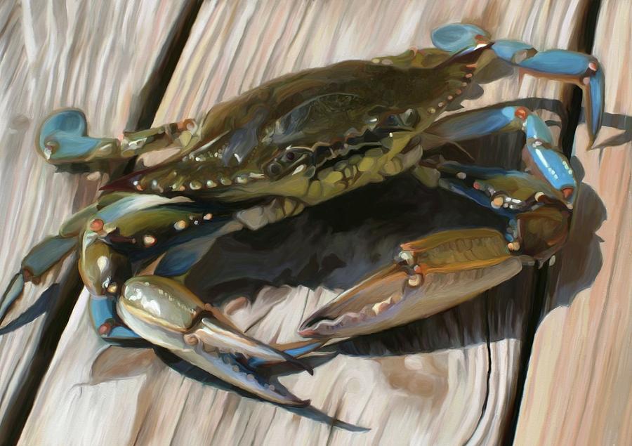 Crabbie Painting