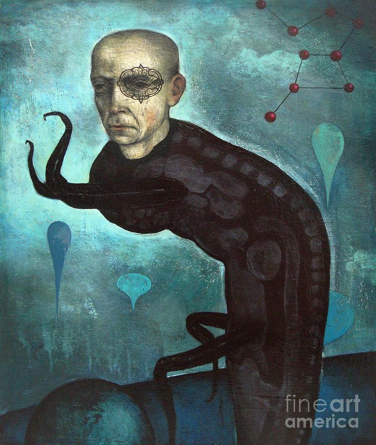 Creppy Painting - Creepwalker by Craig LaRotonda
