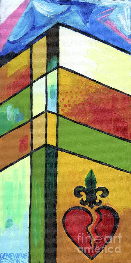Creve Coeur Streetlight Banners Whimsical Motion 18 Painting