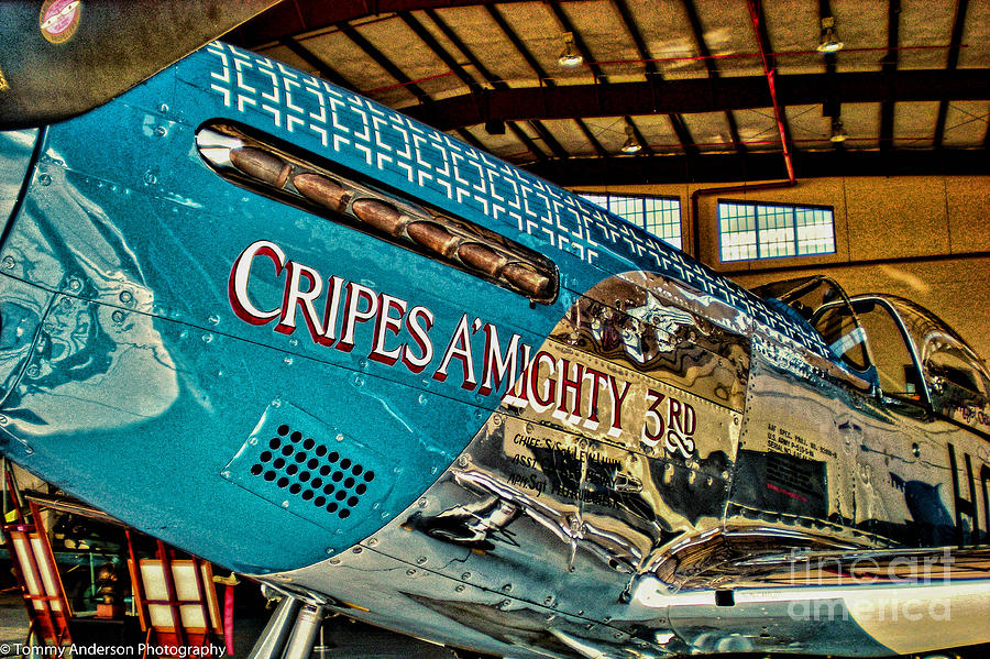 P-51 Photograph - Cripes Almighty by Tommy Anderson