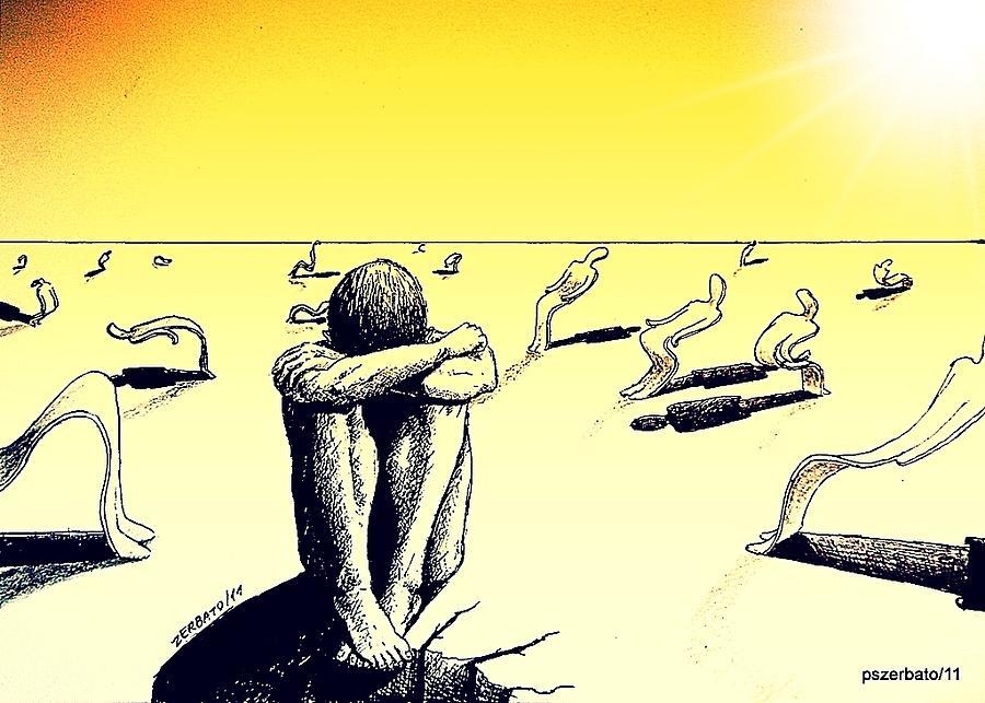 Crisis Of Leader Digital Art - Crisis Of Leader by Paulo Zerbato