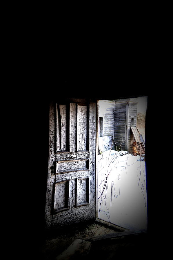 Door Photograph - Crooked Entrance by Emily Stauring