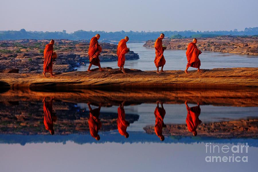 Asia Photograph - Cross Over by Buchachon Petthanya