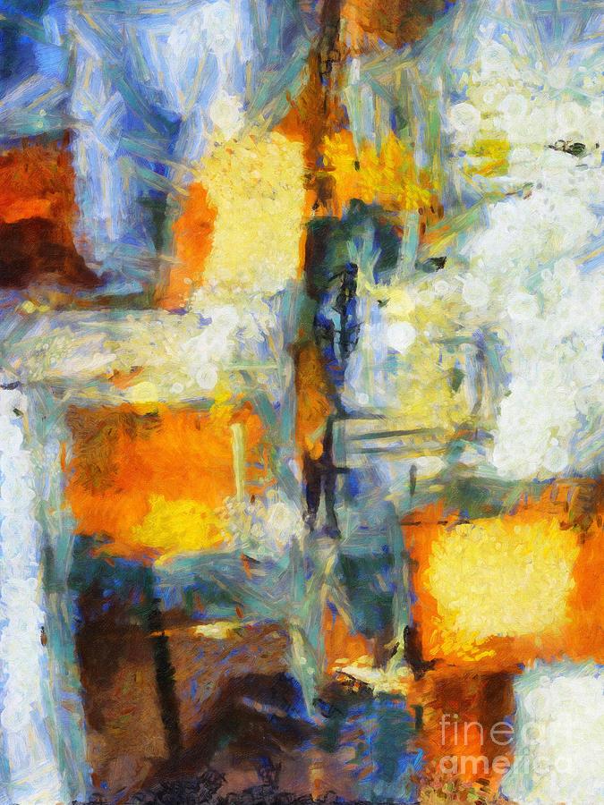 Crossing Painting - Crossing by Lutz Baar