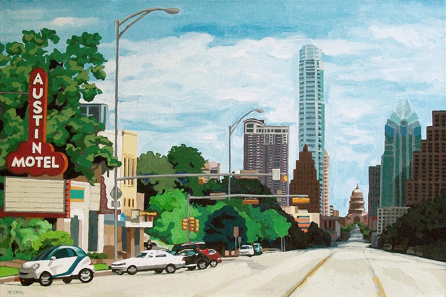 Crossing South Congress Painting