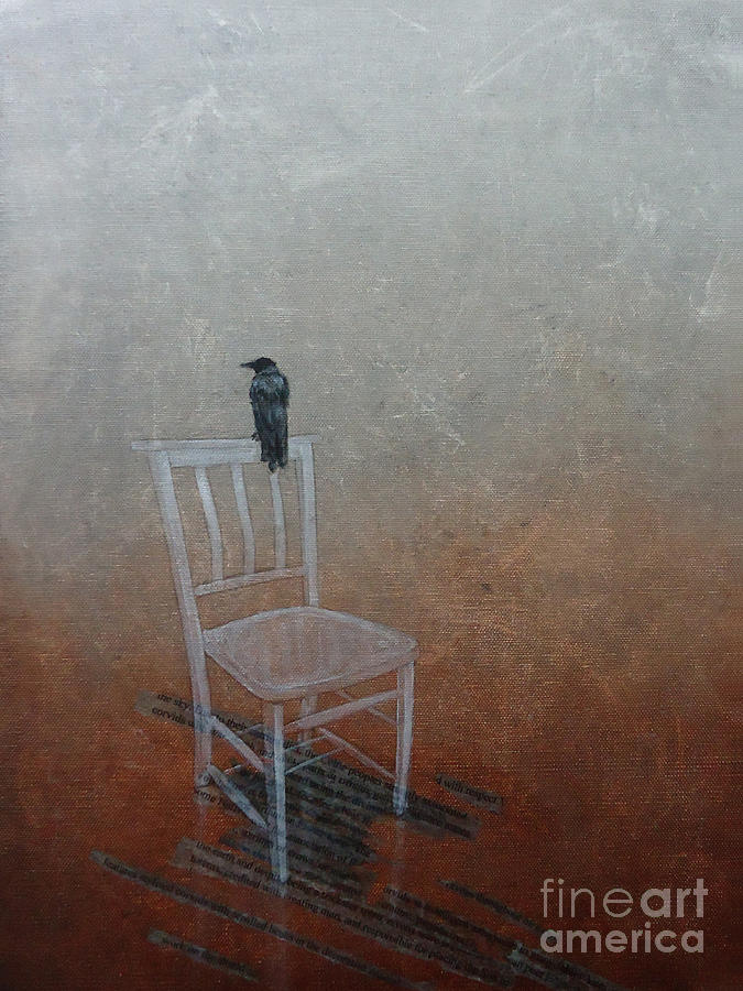Crow Mixed Media - Crow by Paul OBrien