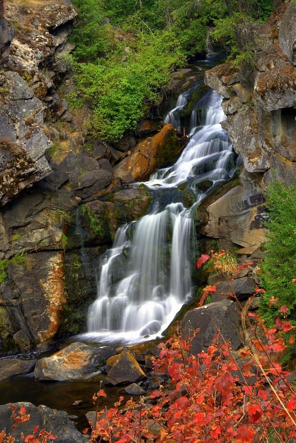 Crystal Falls Photograph - Crystal Falls by Marty Koch