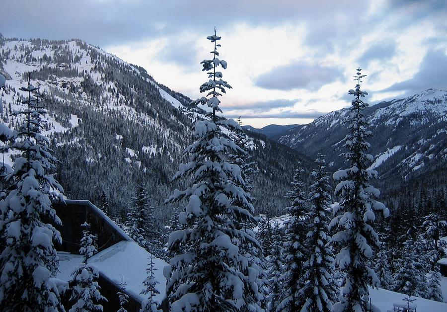 Crystal Mountain Dawn Photograph
