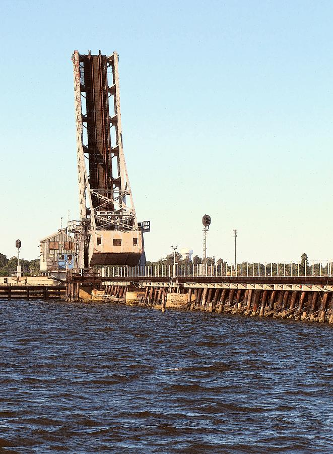 Digital Photography Photograph - Csx Rail-bridge Over The Manatee River by Richard Porter