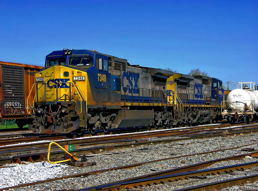 photograph csx train2650 by - photo #19