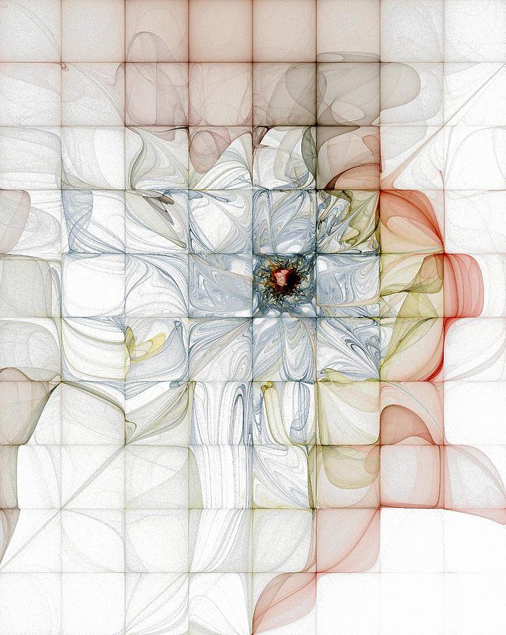 Cubed Pastels Digital Art