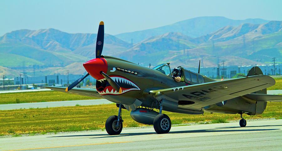 Wwii Fighter Aircraft Photograph - Curtis P-40 Warhawk by Arthur Bohlmann