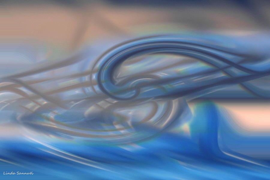 Curved Lines Digital Art