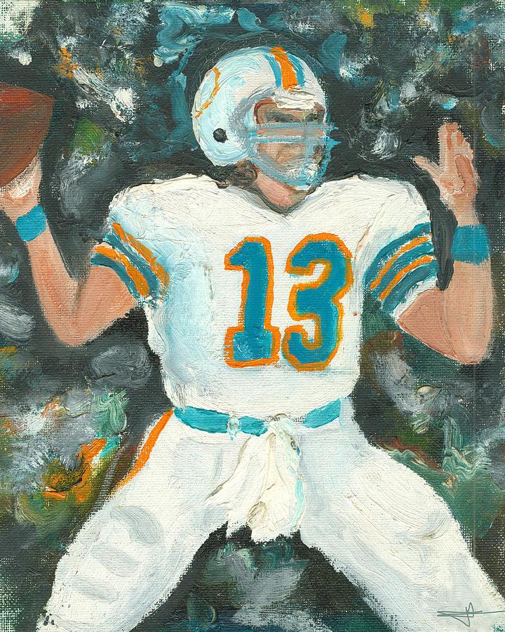 Miami Painting - Dan The Man by Jorge Delara
