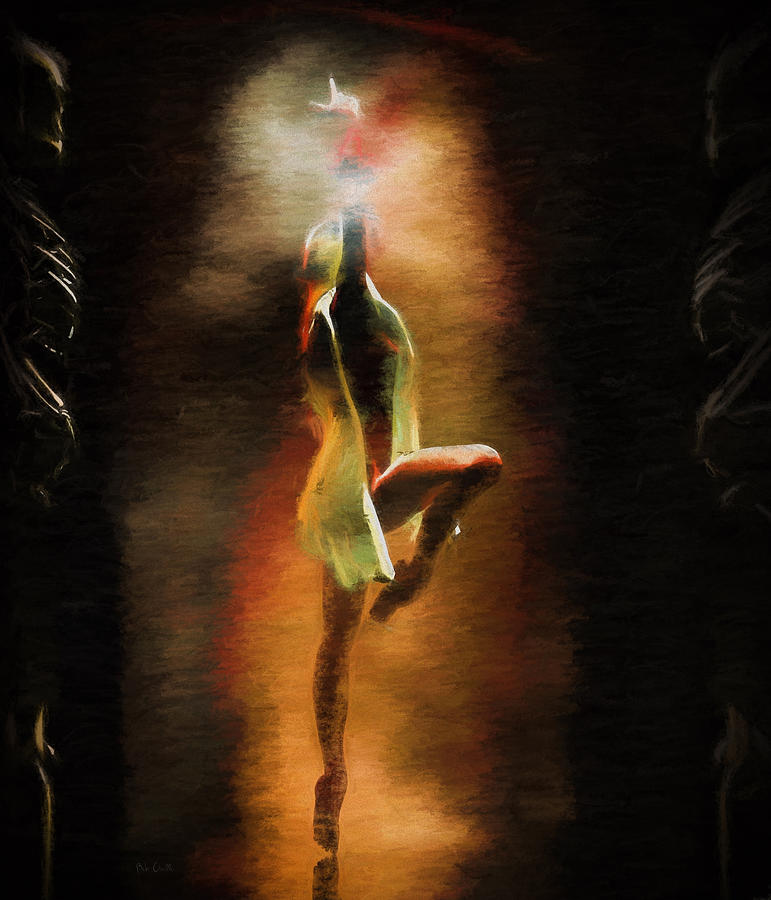 Danse Macabre Painting - Dance Macabre by Bob Orsillo