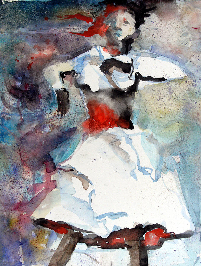 Dance Painting - Dancer by Mindy Newman