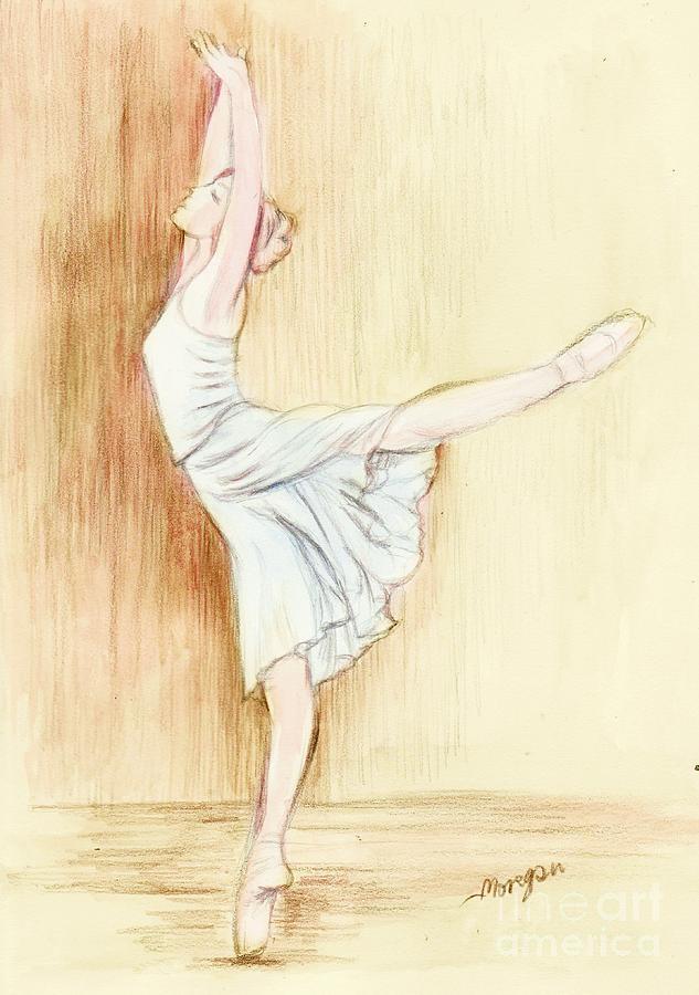 Dancer Painting - Dancer by Morgan Fitzsimons