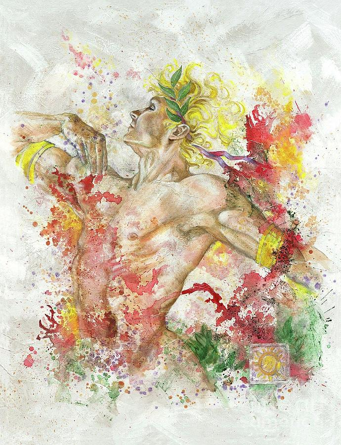 Dancing Apollo Painting
