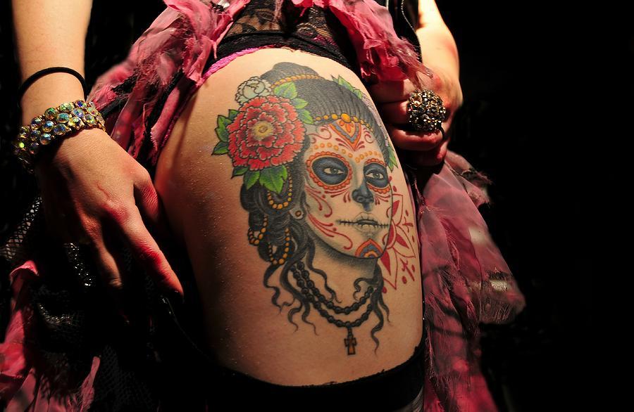 Tattoo Photograph - Dangerous Liaisons by David Lee Thompson