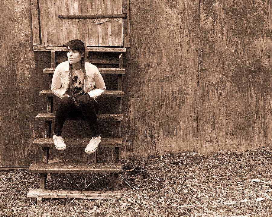 Photograph - Danielle II by Tom Romeo