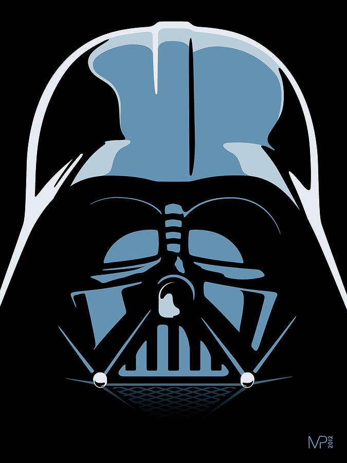 Star Wars Digital Art - Darth Vader by IKONOGRAPHI Art and Design