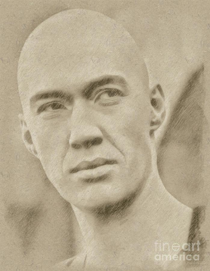 David Carradine From Kung Fu Drawing