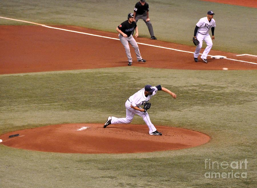 Price Photograph - David Price - The Pitch by John Black