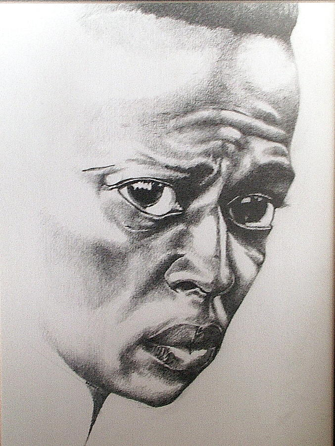 Miles Davis Drawing - Davis by Berlin Cassamajor