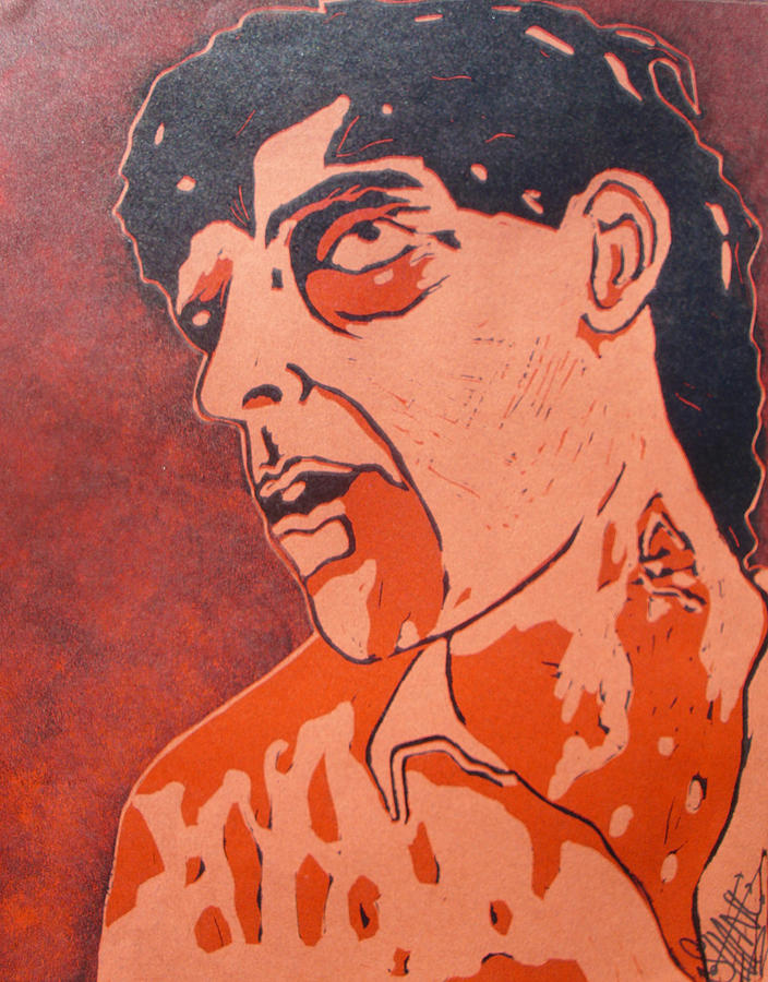 Zombie Painting - Dawn Of The Dead Print 5 by Sam Hane