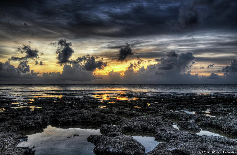 Sunset Photograph - Days End by Ryan Wyckoff