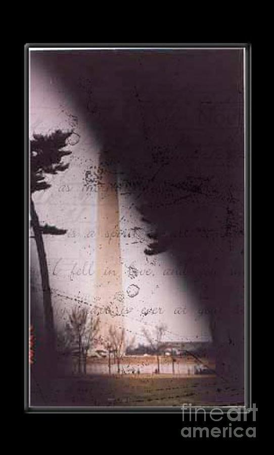 Dc Mixed Media - Dc Grunge  by Lynn Gettman