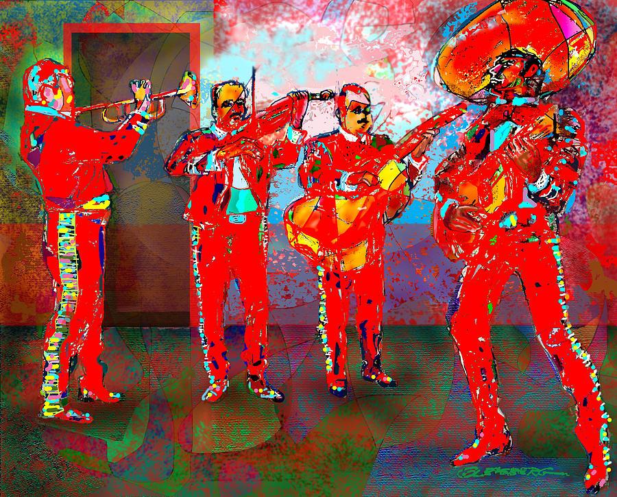 De Colores Painting - De Colores by Dean Gleisberg