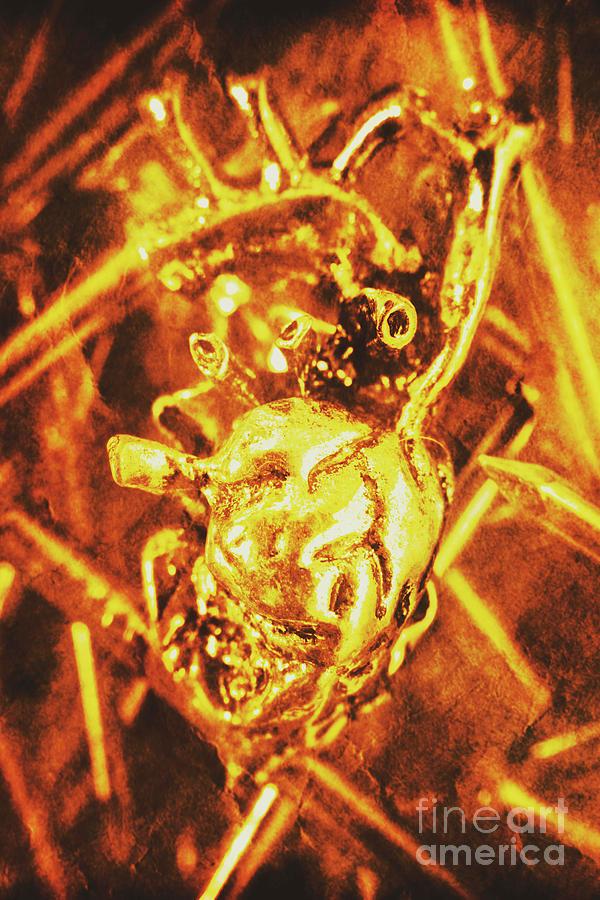 Dead Heart Of Transhumanism Photograph