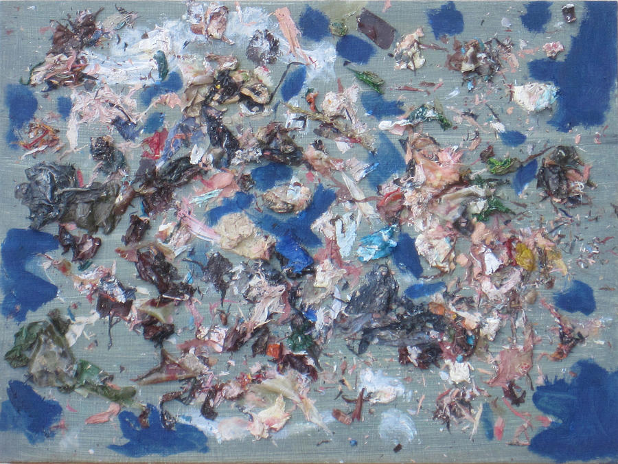 Oil Painting - Deconstruction  by Gil Conradis