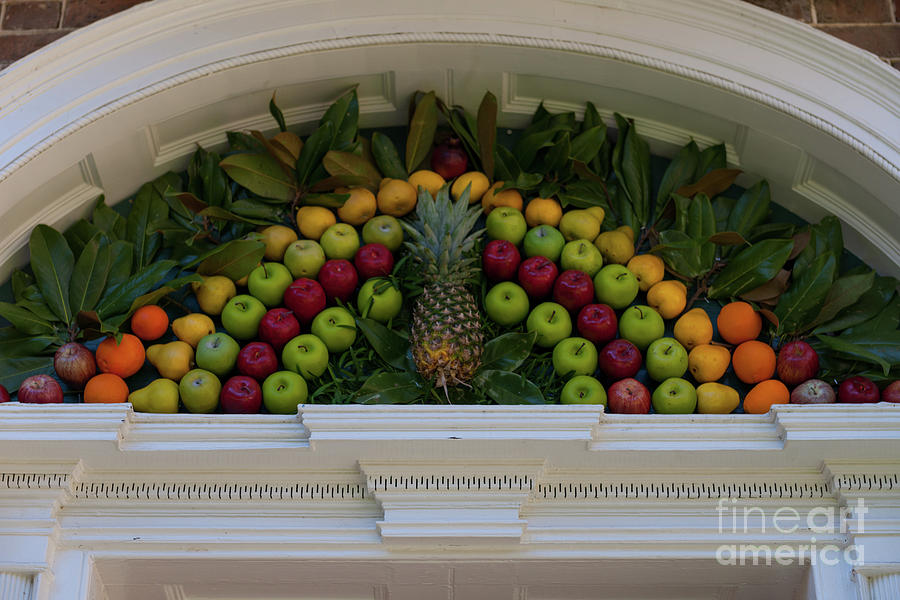 Decorating With Fruit Photograph