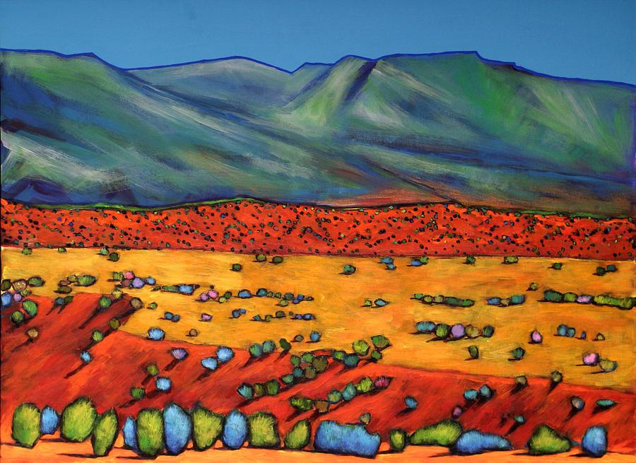 New Mexico Painting - Deep Shadows by Johnathan Harris