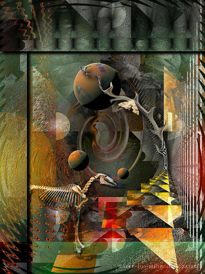 Psychology Digital Art - Deep Soul Journey by Mimulux patricia no