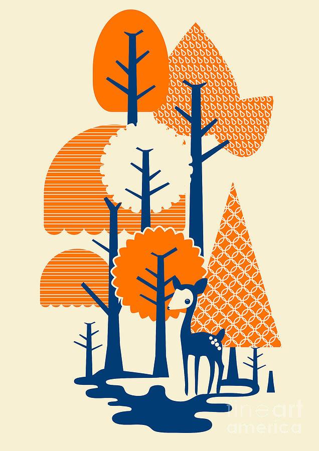 Deer Forester Digital Art