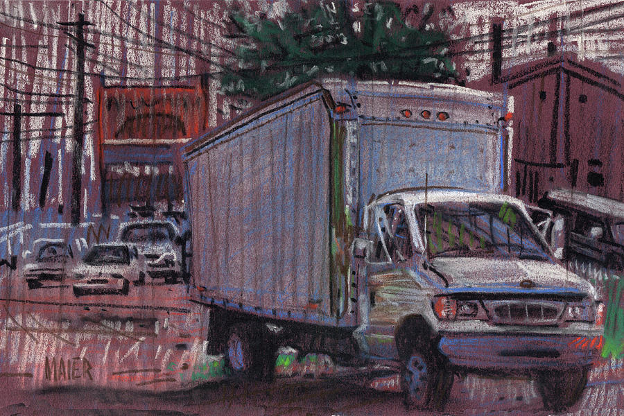 Delivery Truck 2 Drawing