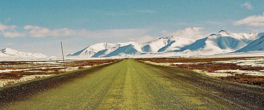North America Photograph - Dempster Highway - Yukon by Juergen Weiss