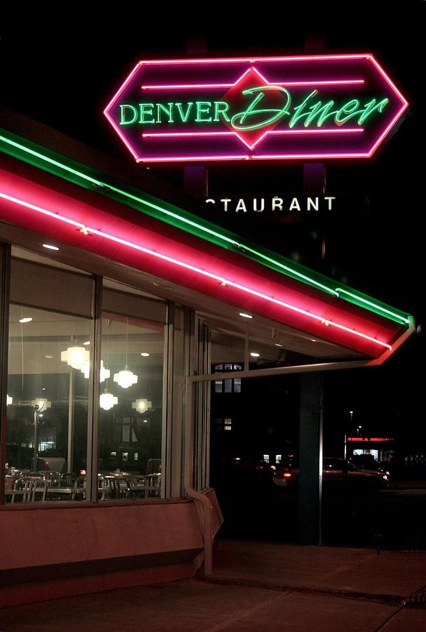 Denver Diner Photograph - Denver Diner by Jeff Ball
